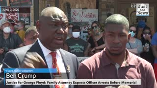 Floyd Family Attorney Expects Officer Arrests Before Memorial