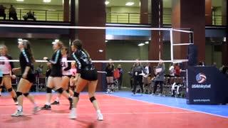 MLK Volleyball Tournament dropshot