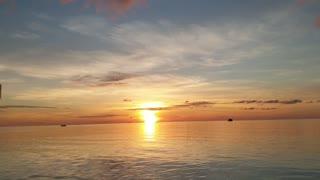 Beautiful Maldives Sunset - Kooddoo Island