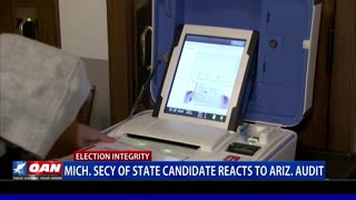 Mich. Secy of State candidate reacts to Ariz. audit