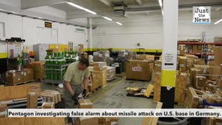 Pentagon investigating false alarm about missile attack on U.S. base in Germany
