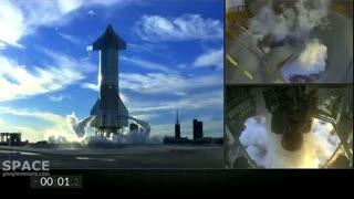 SpaceX StarShip SN-8 Test Flight Attempt
