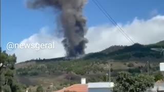Volcano erupts in La Palma, Spanish Canary Islands