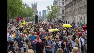 London Freedom Protest 29th May 2021 - Stills Slideshow