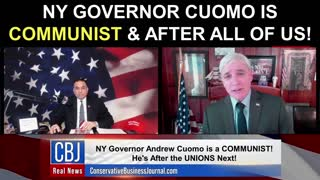 NY Governor Cuomo is COMMUNIST & After ALL Of Us!