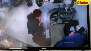 Video: A punta de gritos evitaron robo masivo en Bucaramanga