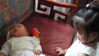 Pepper's World: Pepper baby visit baby