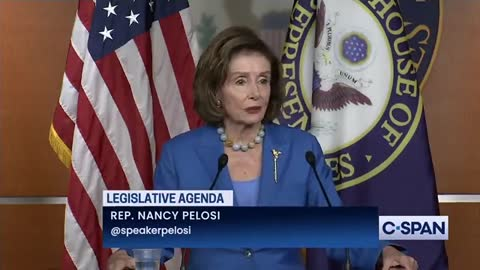 Nancy Pelosi Stumbles Through Speech and Can't Count!