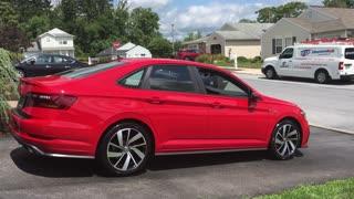 2019 Volkswagen Jetta GLI Red