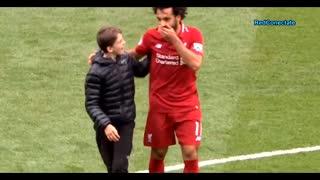 When Kids Meet Their Football Heroes