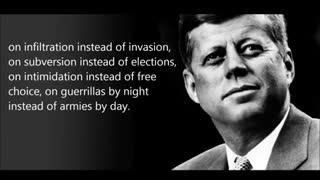 President Kennedy talks about the secret society