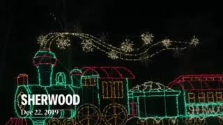 Sherwood Forest Christmas lights