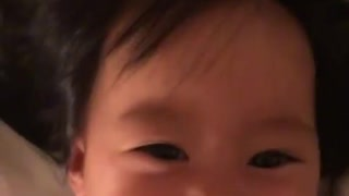 Baby girl's contagious laughter will brighten your day