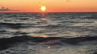Sunset Tiny Beaches
