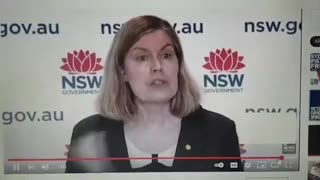 Australian public health chief admits they are in the New World Order