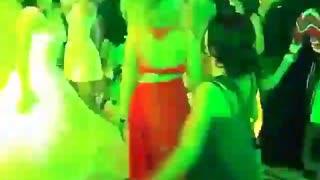 Wedding ceremony, bride dancing