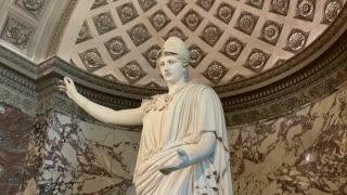 Presentación de la restauración de la Atenea de Velletri en el Louvre