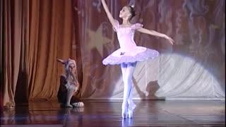 children dancing ballet