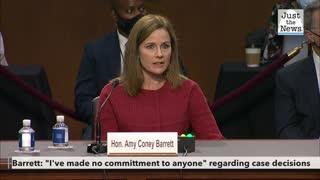 Barrett addresses Affordable Care Act questions