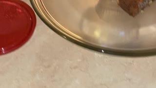 Apple 🍎 walnut cake with homemade icing