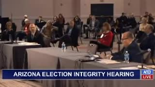 48 Minutes of Testimony at Arizona Election Fraud Hearing, 2020