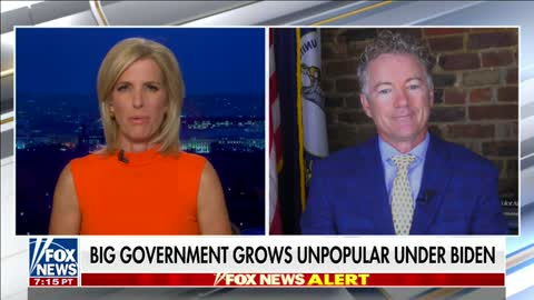 Dr. Rand Paul Joins Laura Ingraham to Discuss Big Government and January 6th Investigations