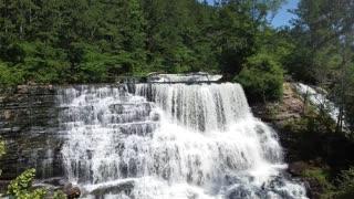 Welti Falls - Cullman, Alabama (Drone Footage)