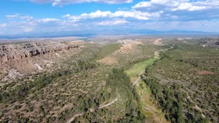 New Mexico Forest Road Canyons