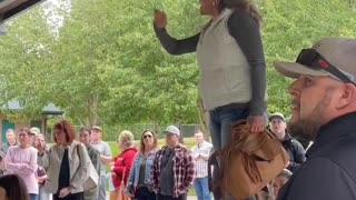 Clark County mother unleashes on state senator