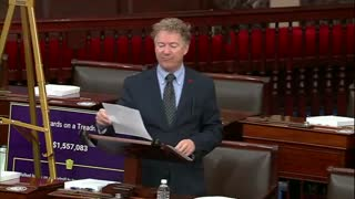 ROUND 2: Rand Paul Goes on a Tear Against Wasting Taxpayer Dollars
