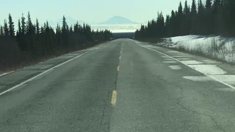 On my way to Glennallen, Alaska