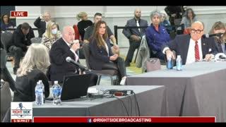 Jan Bryant's Testimony During Arizona Legislature Hearing on Election Fraud