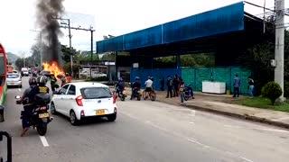 Mujer murió arrollada por conductor aparentemente ebrio en vía entre Bucaramanga y Girón