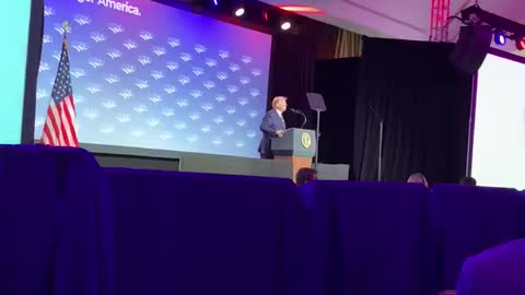 President Trump Speaking at NACo