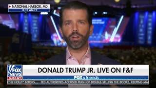 Donald Trump Jr. slams unhinged leftists for hoping coronavirus hurts President politically