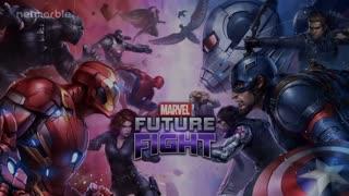 Captain Marvel & Iron man Fight - Thanos Marvel's Future Fight - cool marvel