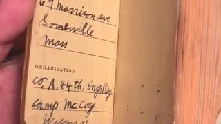 Private Bradley's Bible