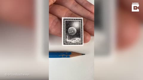 Talented Artist Creates Insanely Miniature Drawings