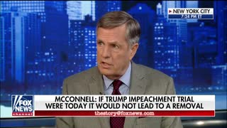 Brit Hume: Senate doesn't have 19 Republicans who would vote to remove Trump