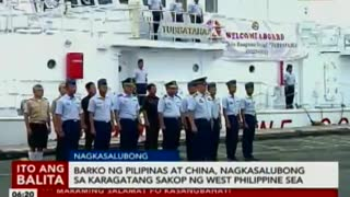 China vs philippines on west philippine sea issue