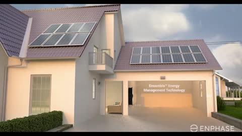 Enphase Ensemble Solar Energy Storage Solution