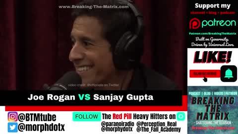 Joe Rogan VS Sanjay Gupta: The moment a Big Pharma Shill gets DECIMATED