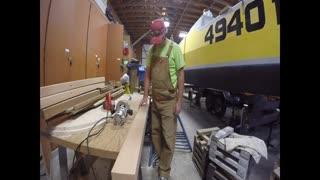 More happy happy happy wood work
