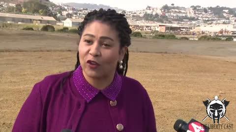 SF Mayor London Breed Responds Maskless Criticism: I Was Feelin' The Spirit