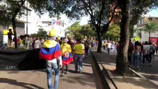 protesta en bucaramanga | carrera 33