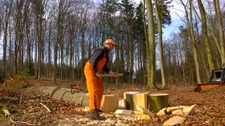 Orange Lumberjack