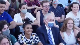 Watch: AOC Tears Off Masks Moments After Photo-Op