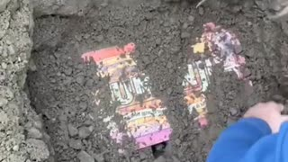 Look what I found underneath of digging