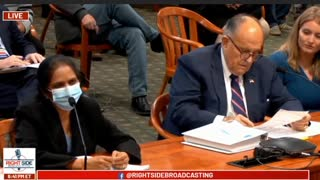 Rudy Guliana Calls Democrat Vote Counter a Shemale