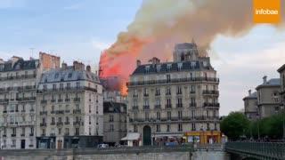 Video: Así arde en llamas la catedral de Notre Dame